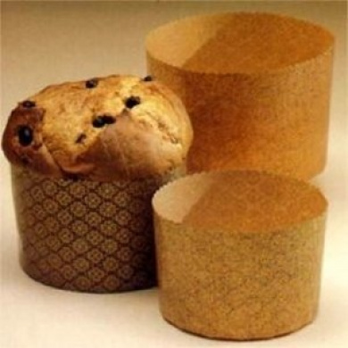 "Qualita Paper Baking Moulds - Panettone - 3½"""