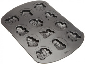Wilton Cookie Pan, 12-Cavity, Christmas Holiday