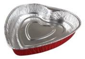 Heart Shaped Foil Bake Pan 10 / Pack
