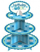 Amscan International Birthday Boy Cupcake Stand