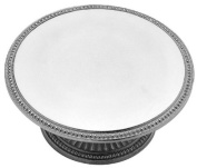 Wilton Armetale Flutes and Pearls Cake Stand, Round, 36.8cm by 28.6cm