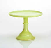 30.5cm Grand Bakers Cake Stand Butter Cream Colour Glass Bakery Diner