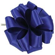 Dress My Cupcake 1.6cm Double Face Satin Ribbon - Royal Blue