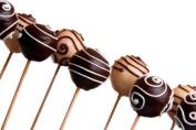 Baking Addict 100 Wholesale 15.2cm Wooden Pop Sticks for Cake Pops, Lollipops, Rock Candy & More