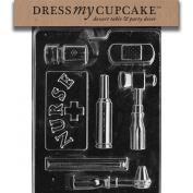 Dress My Cupcake DMCJ081 Chocolate Candy Mould, Nurse Kit