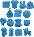 First Impressions Moulds Silicone Mould - Baby Letters