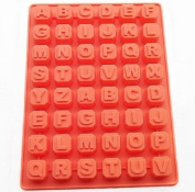 Wholeport Silicone Muffin Cups Cake Pan Ice Chocolate Mould 26-Letters