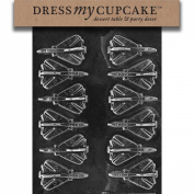 Dress My Cupcake DMCM084 Chocolate Candy Mould, Aeroplanes