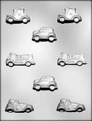CHOC mould CARS/TRUCK 4.4cm . 5.7cm .