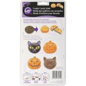Wilton 2115-0222 Halloween Cat, Pumpkin, Candy Cookie Mould