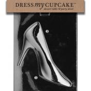 Dress My Cupcake DMCD055A Chocolate Candy Mould, High Heel Shoe-Piece 1