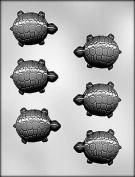 CHOC mould TURTLE 6.4cm . CH12959