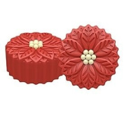 Poinsettia Oreo Cookie Mould