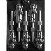 BASEBALL PLAYER LOLLY Sports Candy Mould Chocolate