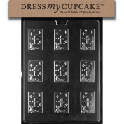 Dress My Cupcake DMCR063 Chocolate Candy Mould, Communion/Baptism Mint