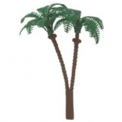 Bag of 12 ~ Palm Tree Picks ~ Cake / Cupcake Topper
