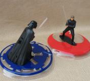 Star Wars Darth Vader vs Luke Skywalker Light-Up Cake Topper