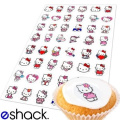 48 x Hello Kitty Edible Birthday Cupcake Cake Toppers Decorations