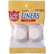 Cupcake Liners-Mini White