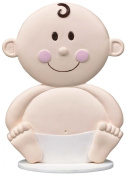 BABY FACE CAKE TOPPER DECORATION CHRISTENINGS BABY SHOWER PARTY
