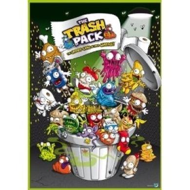 Trash Pack Edible Cake Image Topper