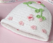 Lillian Rose 24CA800 BL Blessing Crocheted Cap