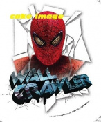 Spiderman Wall Crawler Personalised Edible Cake Image Topper