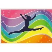Dance Rainbow ~ Edible Image Cake Topper