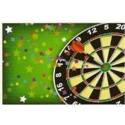 Dart Board ~ Edible Image Cake Topper