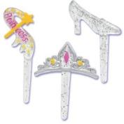 Princess Party Slipper Crown Wand (12) Cupcake Cake Pops Topper Decor Pics Picks