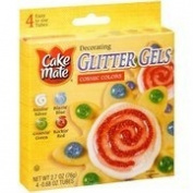 Cake Mate Glitter Gels - Cosmic Colours
