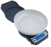 American Weigh LB3000 Compact Digital Scale with Removable Bowl, 3000 by 0.1g