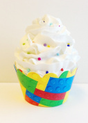 Building Blocks Cupcake Wrappers 24ct - Great for Lego Parties