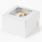 Dozen White Cupcake Boxes