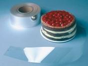 Clear Cake Collars