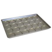 Chicago Metallic Bakeware ePan Aluminium Hamburger Bun Pan for 24 Buns