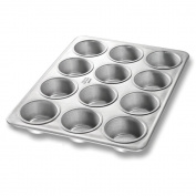 Chicago Metallic Bakeware Aluminized Steel Glazed Cupcake / Muffin Pan