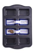 Entenmann's Classic 8 Cup Non-Stick Mini Loaf/Brownie Pan
