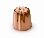Mauviel M'Passion 4180.55 Canele 5.1cm Mould, Tinned Interior