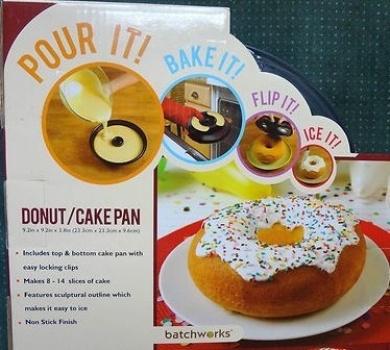 Giant Donut Cake Form