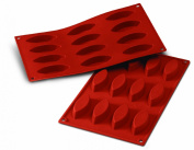 Silikomart SF038/C Silicone Classic Collection Mould Shapes, Boat, Small