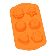 Ihomecooker Different Flower Silicone Bakeware 6 Even