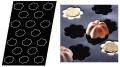 Matfer Bourgeat 336397 Flexipan Mini Charlottes Nonstick Sheet Mould