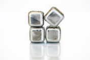 Stainless Steel Whiskey Cubes Set of 4