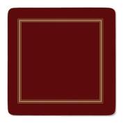 Pimpernel Classic Burgundy Coasters - Set of 6