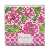 Lilly Pulitzer Paper Coasters - Lucky Charms Green
