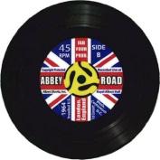 ABBEY ROAD 45 RECORD VINYL COASTER