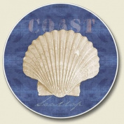 White Sand Blue Sea - Single Coaster for Your Car,