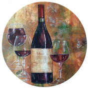 Cork Drink Coaster Set Pinot I
