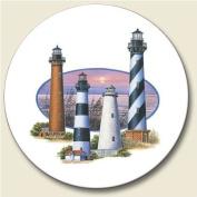 South Atlantic Lights Auto Coaster, Single Coaster for Your Car